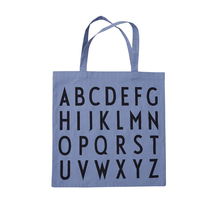 AJ Favourite Carrying bag, ABC / blue from Design Letters