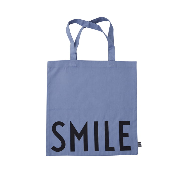 AJ Favourite Carrying bag, Smile / blue from Design Letters