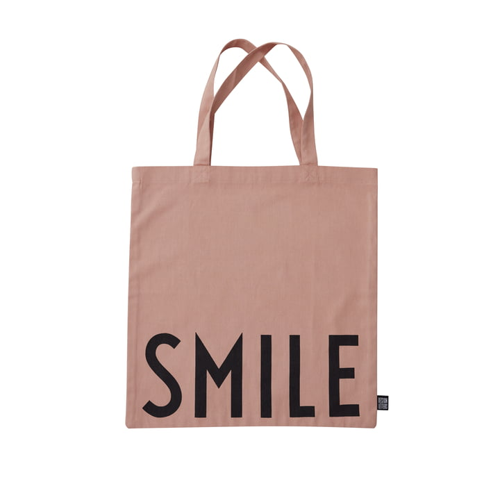 AJ Favourite Carrying bag, Smile / nude from Design Letters