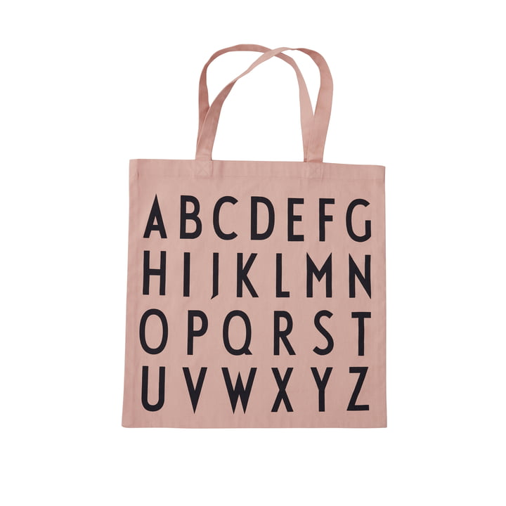 AJ Favourite Carrying bag, ABC / nude from Design Letters