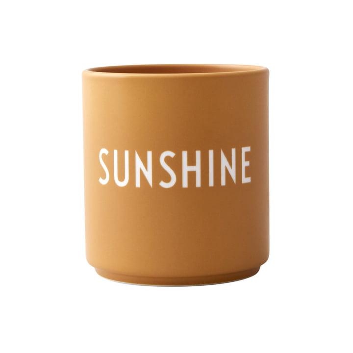 AJ Favourite Porcelain Mug, Sunshine by Design Letters
