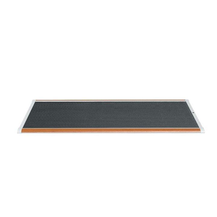 Doormat Outdoor 120 × 70 cm from Rizz in teak / white