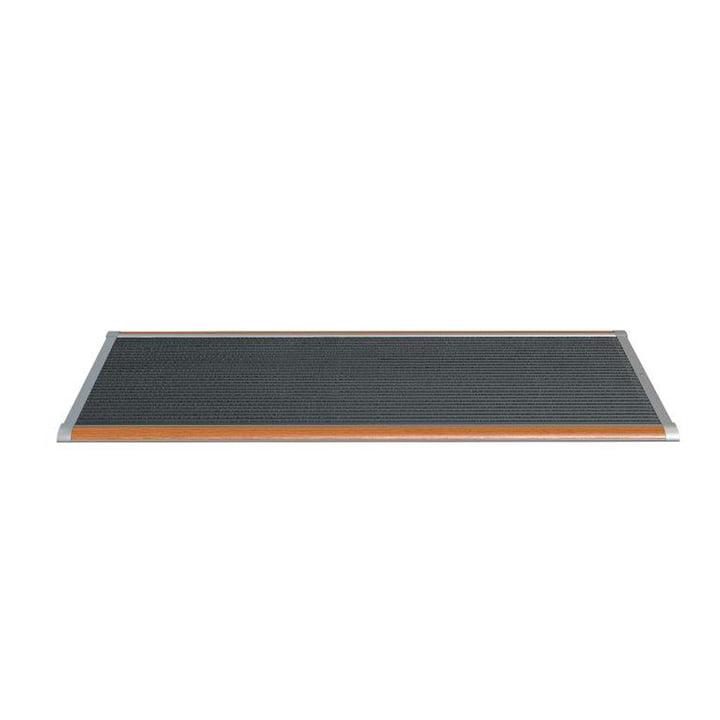 Doormat Outdoor 120 × 70 cm from Rizz in teak / silver