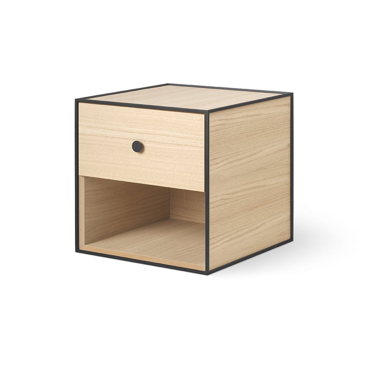 Frame 35 with 1 drawer of by Lassen in oak