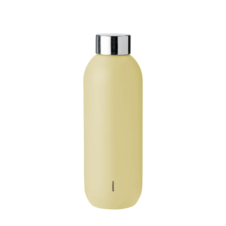 Keep Cool Drinking bottle 0,6 l from Stelton in soft yellow