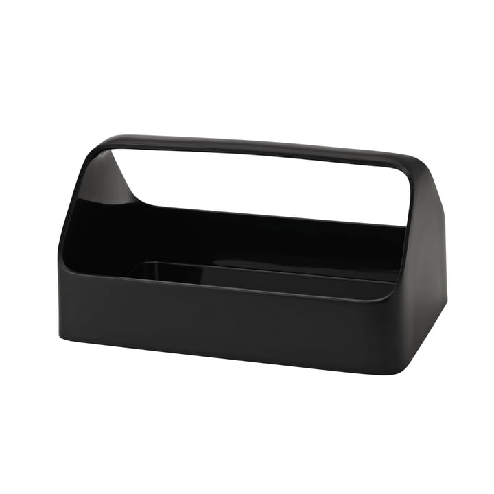 Mobile phone box Storage box by Rig-Tig by Stelton in black