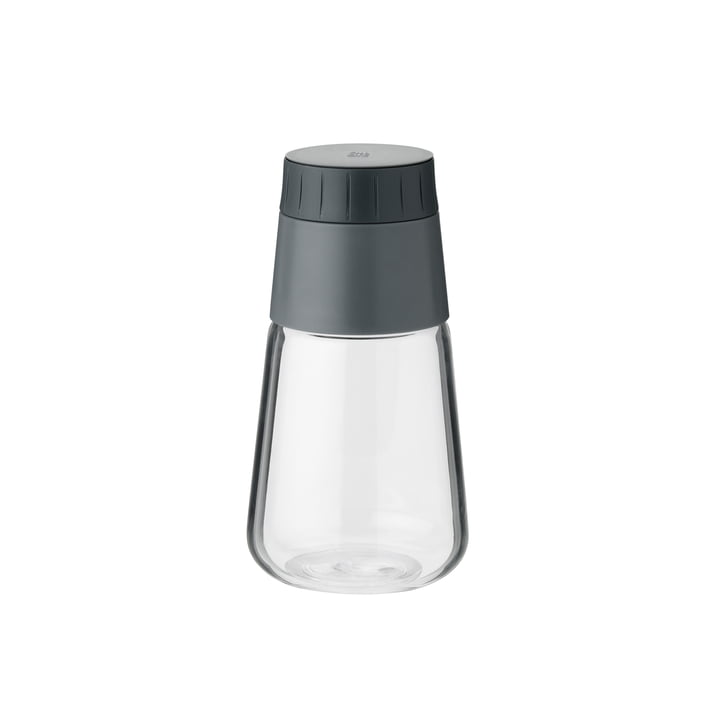Shake-It Dressing Shaker from Rig-Tig by Stelton in grey