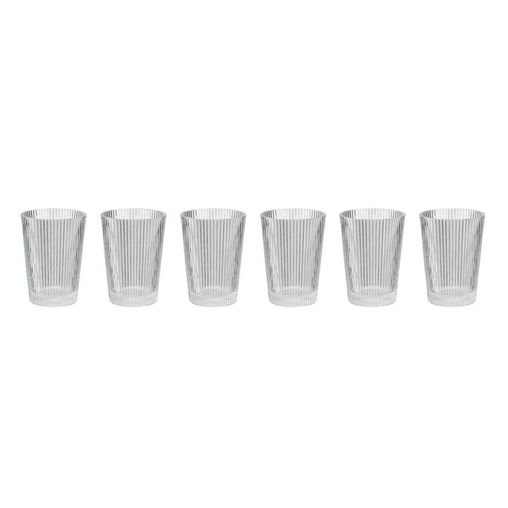 Pilastro Drinking glass (set of 6) from Stelton