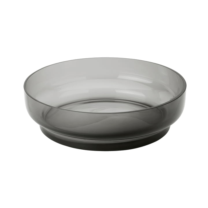 Hoop Serving bowl from Stelton in smoke