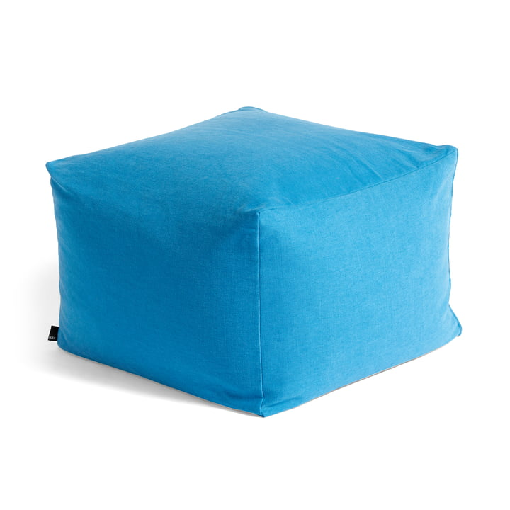 Varer Pouf from Hay In persian blue