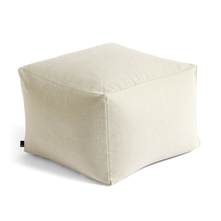 Varer Pouf from Hay In warm grey
