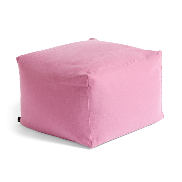 Varer Pouf from Hay In cool rose