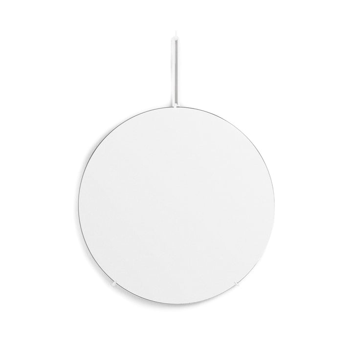wall mirror Ø 50 cm from Moebe in white