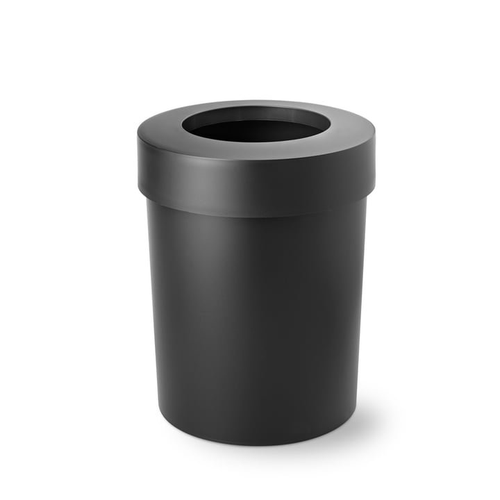 Midi Cap wastebasket from Depot4Design in black