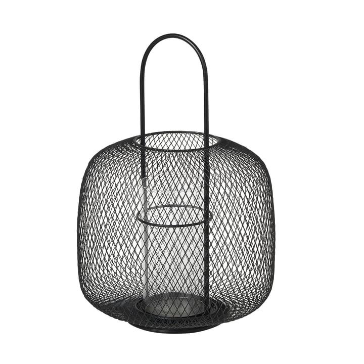 Boden Lantern, Ø 29,5 x H 42,5 cm, black by Broste Copenhagen