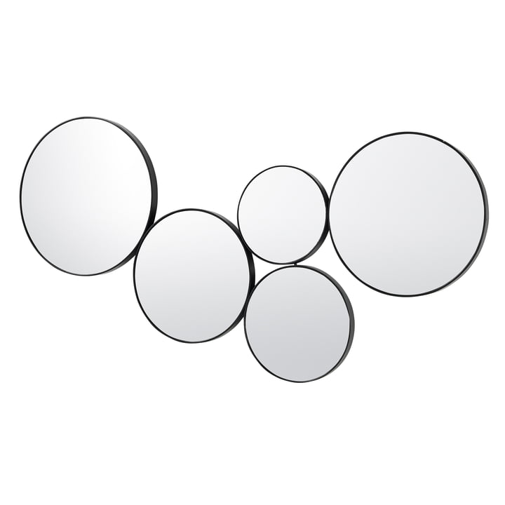 Kunst Mirror, black from Broste Copenhagen