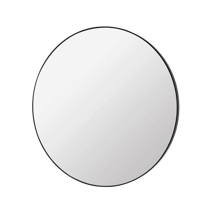 Complete Mirror Ø 80 cm, black from Broste Copenhagen
