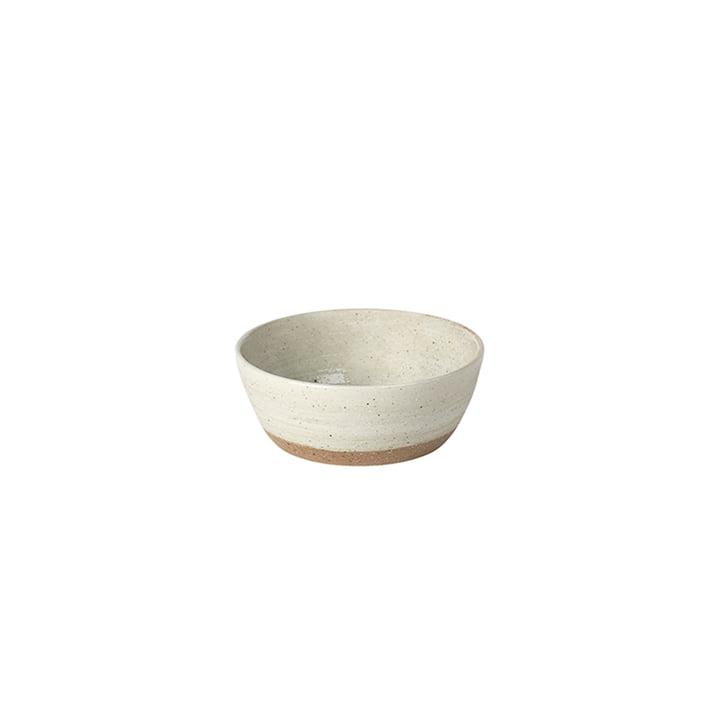 Grød Bowl, Ø 9 x H 3,5 cm, sand from Broste Copenhagen
