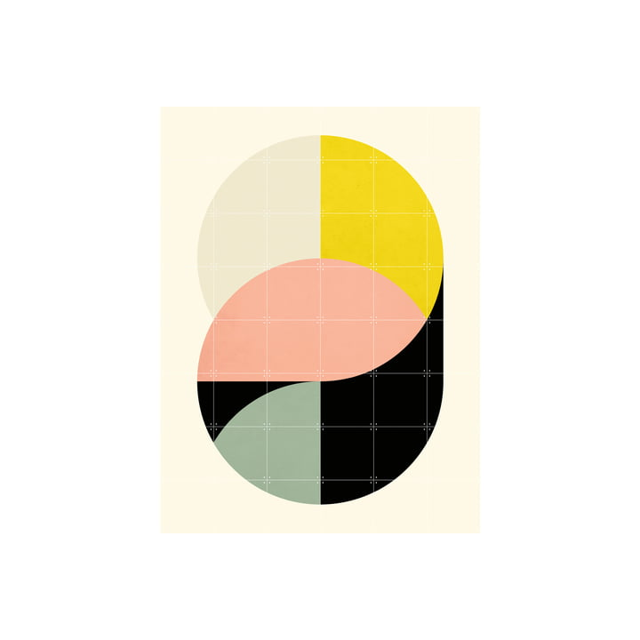 Circles Poster of IXXI in 120 x 160 cm