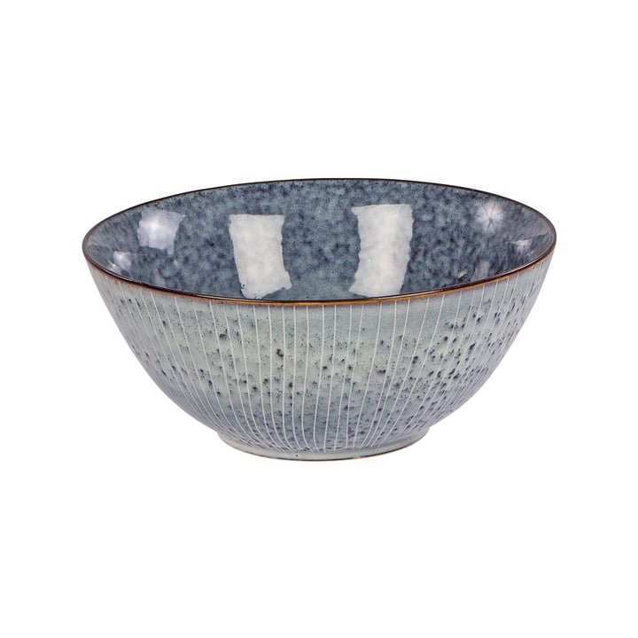 Nordic bowl, Ø 25 x H 11 cm, sea by Broste Copenhagen
