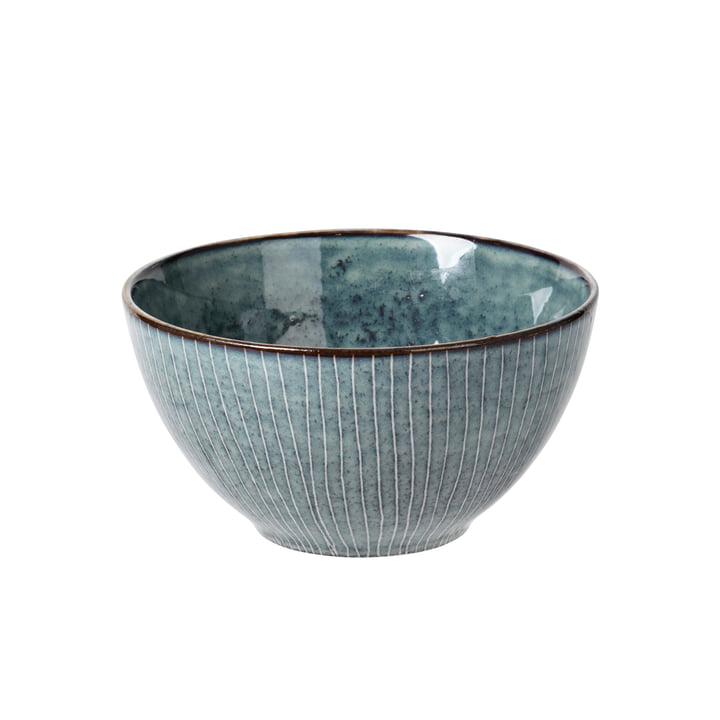 Nordic bowl, Ø 17 x H 8 cm, sea by Broste Copenhagen