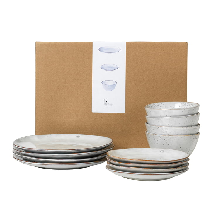 Nordic harness Dinner -Set, sand from Broste Copenhagen