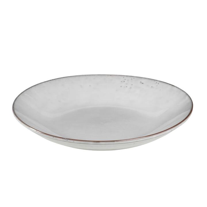 Nordic pasta plate Ø 29 cm, sand by Broste Copenhagen