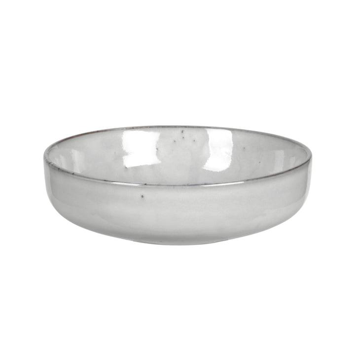 Nordic bowl deep, Ø 17 x H 5 cm, sand by Broste Copenhagen
