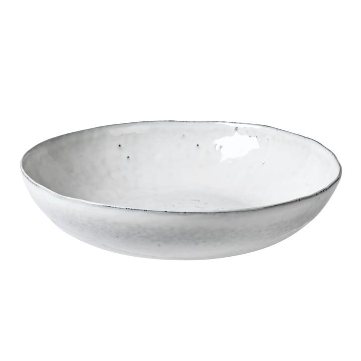 Nordic bowl, Ø 34.5 x H 7.5 cm, sand by Broste Copenhagen