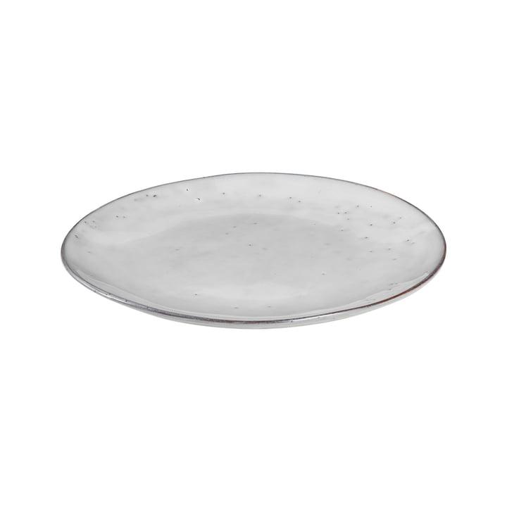 Nordic dinner plate, Ø 26 x H 2.5 cm, sand by Broste Copenhagen