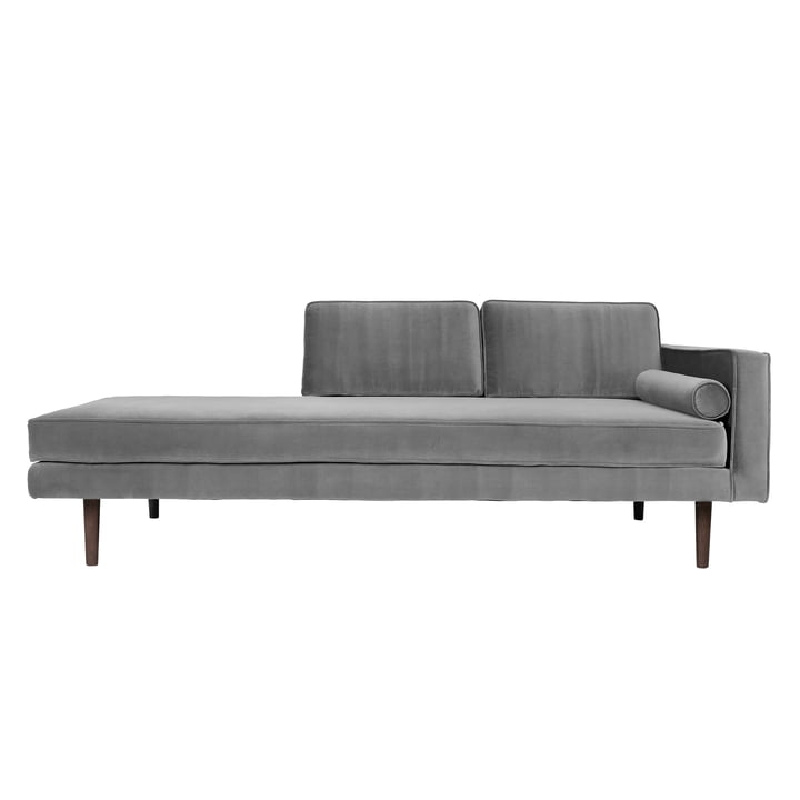 Wind Chaise Longue, right armrest, drizzle from Broste Copenhagen