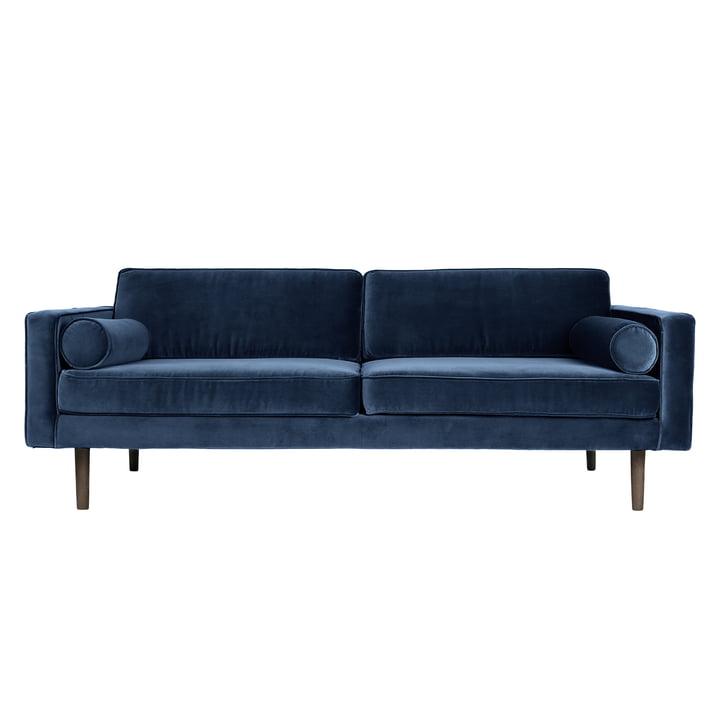 Wind sofa L 200 cm, insignia blue by Broste Copenhagen