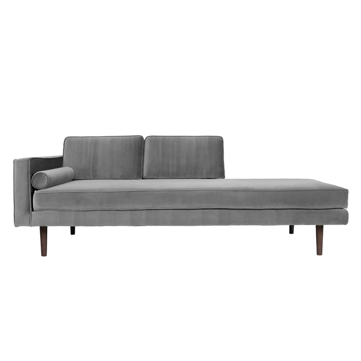Wind Chaise Longue, armrest left, drizzle from Broste Copenhagen