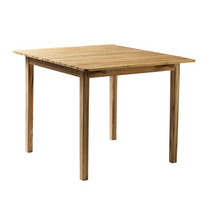 M3 Garden table 90 x 104,5 cm from FDB Møbler teak