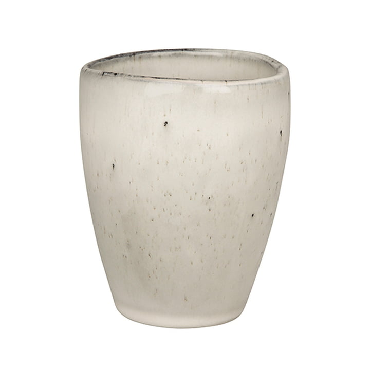 Nordic cup without handle 25 cl, sand by Broste Copenhagen