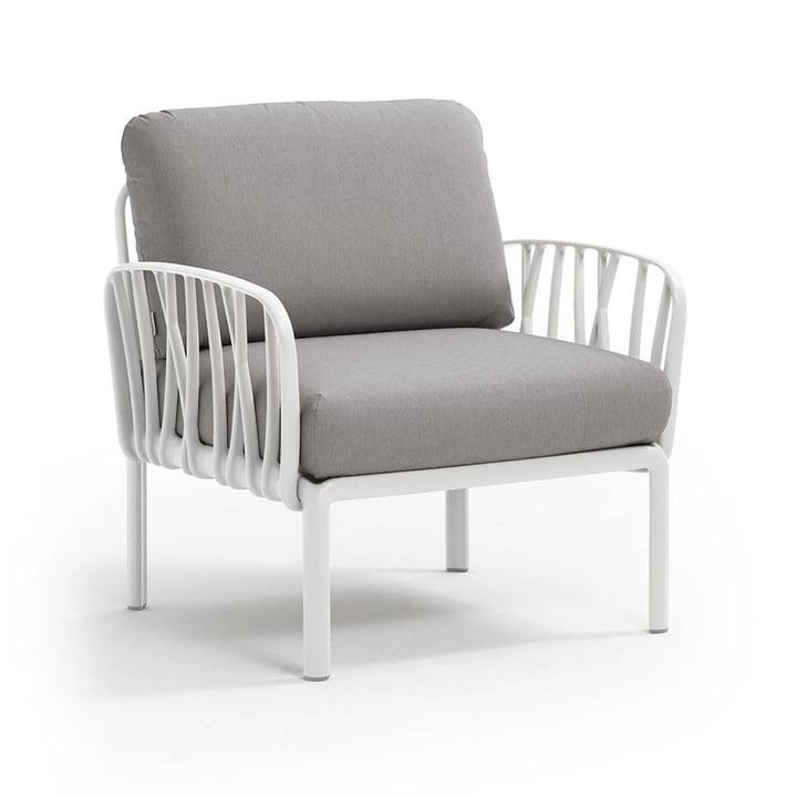 Nardi - Komodo Poltrona armchair, white / grey