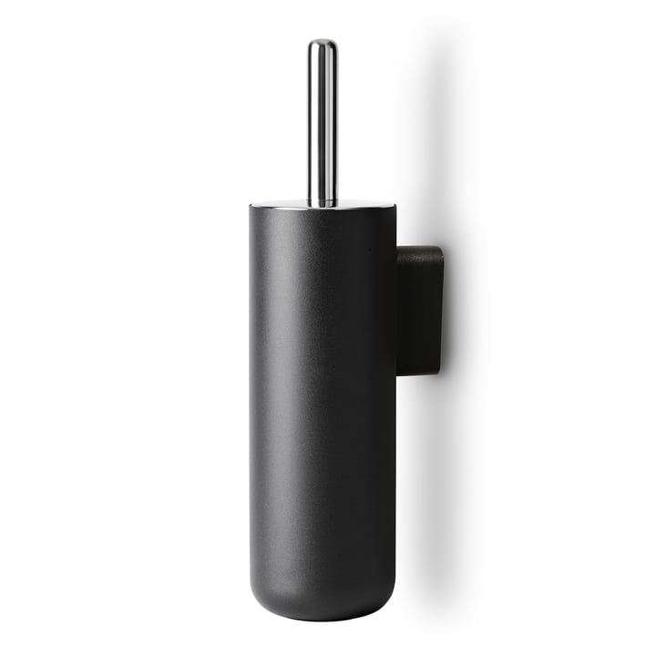 Bath toilet brush wall mounted from Menu in black