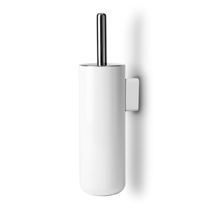 Bath toilet brush wall mounted from Menu in white