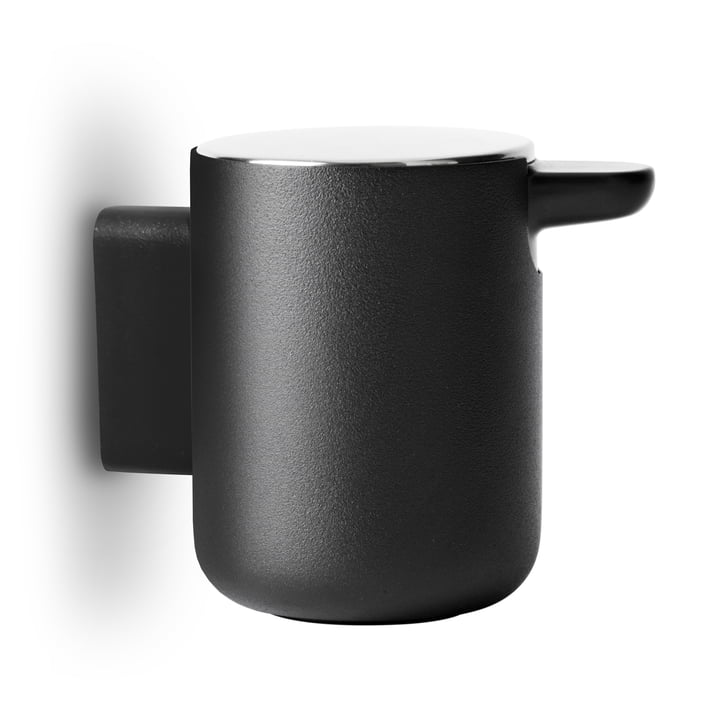 Bath soap dispenser wall mounted from Menu in black