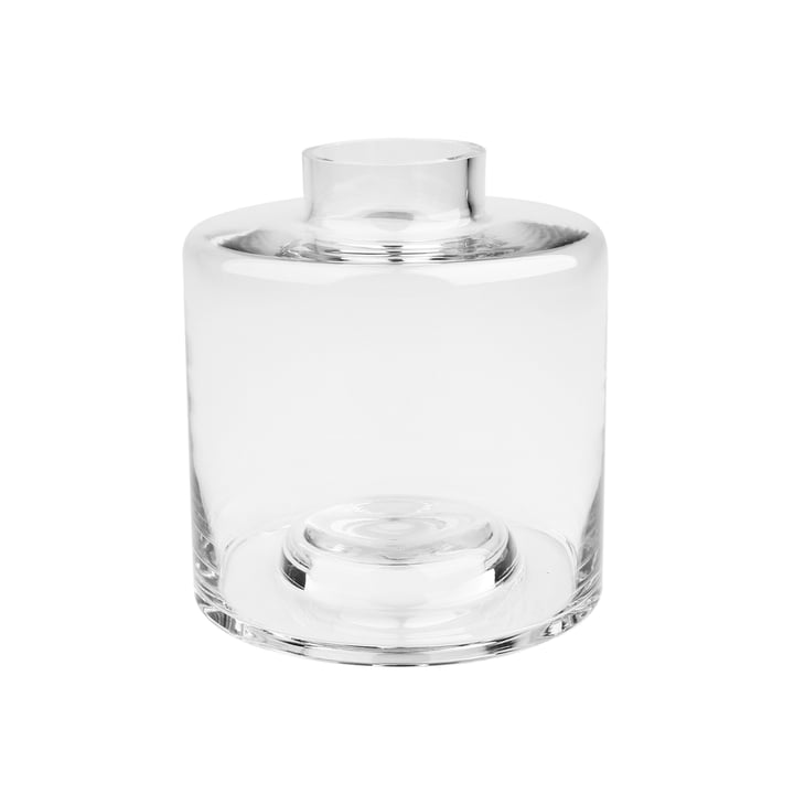 Stackable Vase Ø 14 x H 15 cm, transparent from Connox Collection