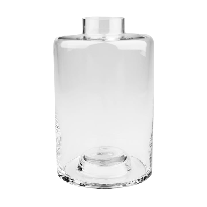 Stackable Vase Ø 13,5 x H 22 cm, transparent from Connox Collection