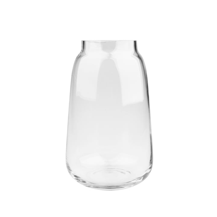 Bou Vase Ø 15 x H 24 cm, transparent from Connox Collection