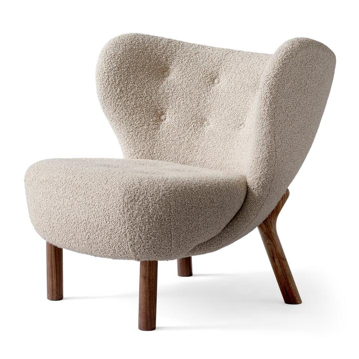 Little Petra VB1 Lounge Chair by & tradition in walnut / Karakorum 003