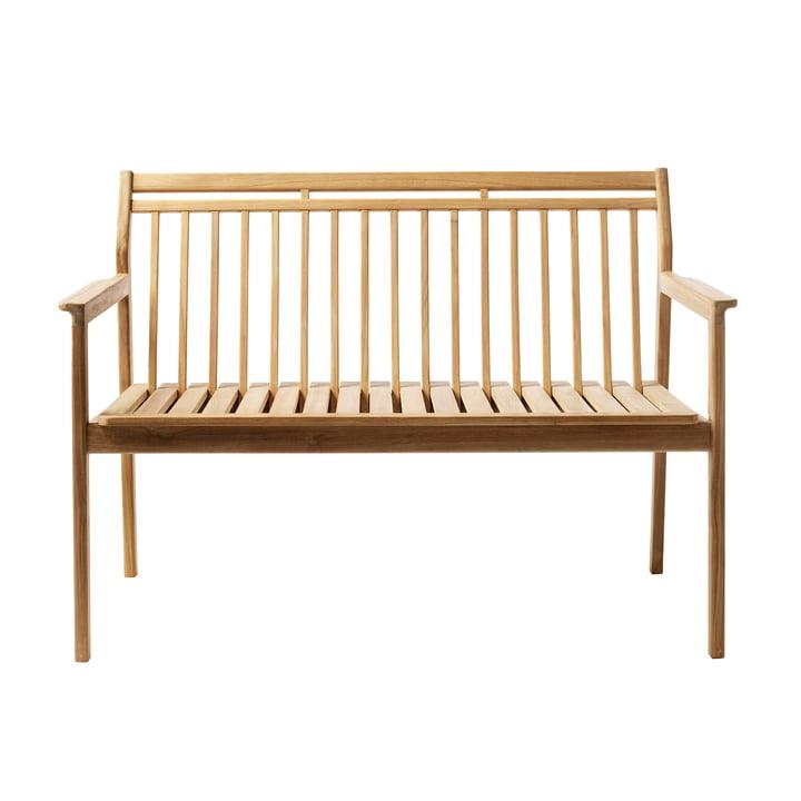 M12 garden bench 64,5 x 119,7 cm from FDB Møbler teak