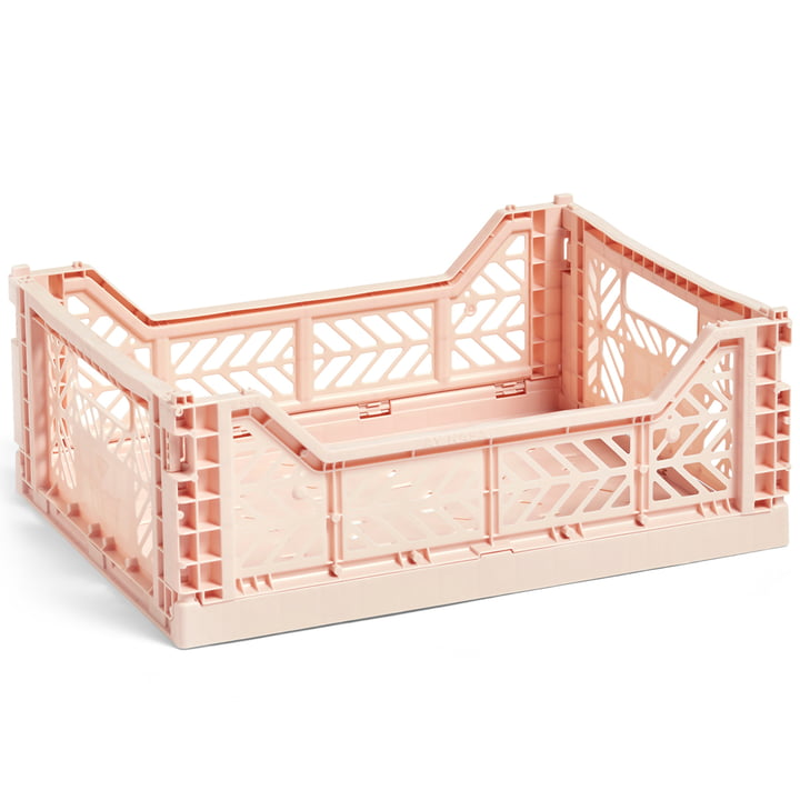 Colour Crate basket M 40 x 30 cm from Hay in nude
