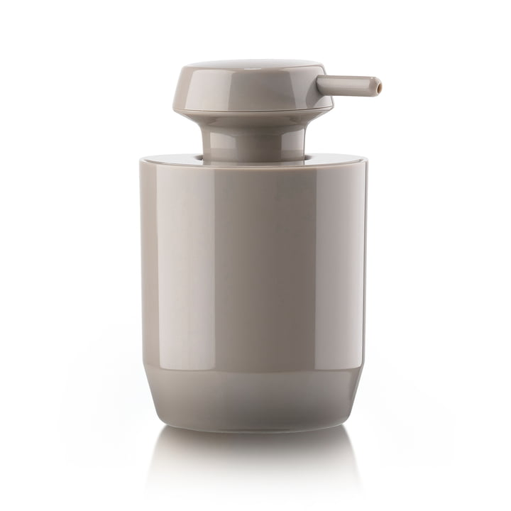 Suii soap dispenser H 12,4 cm from Zone Denmark in taupe