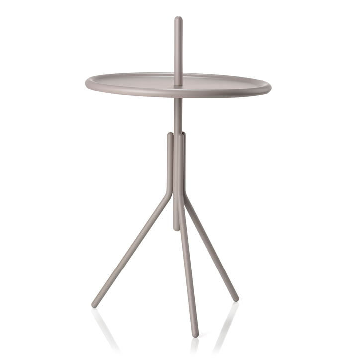 Inu side table Ø 33,8 x H 54,5 cm from Zone Denmark in taupe