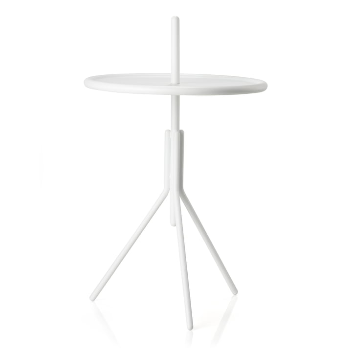 Inu side table Ø 33,8 x H 54,5 cm from Zone Denmark in white