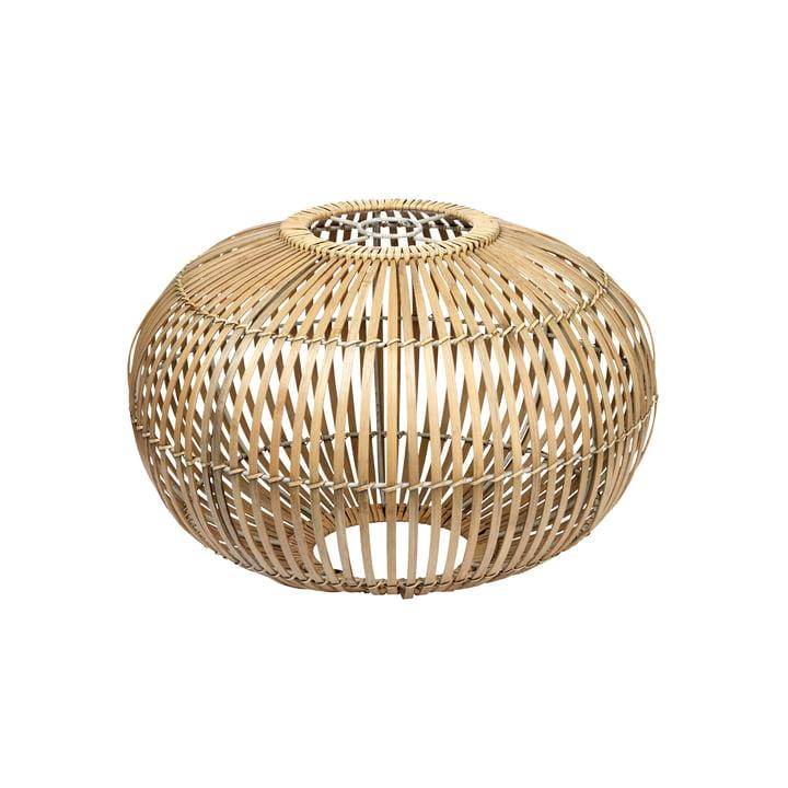 Broste Copenhagen - Zep Bamboo lampshade, Ø 38 x H 26 cm, natural