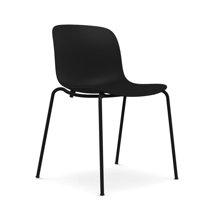 Troy chair polypropylene from Magis in black / black (1763 C)